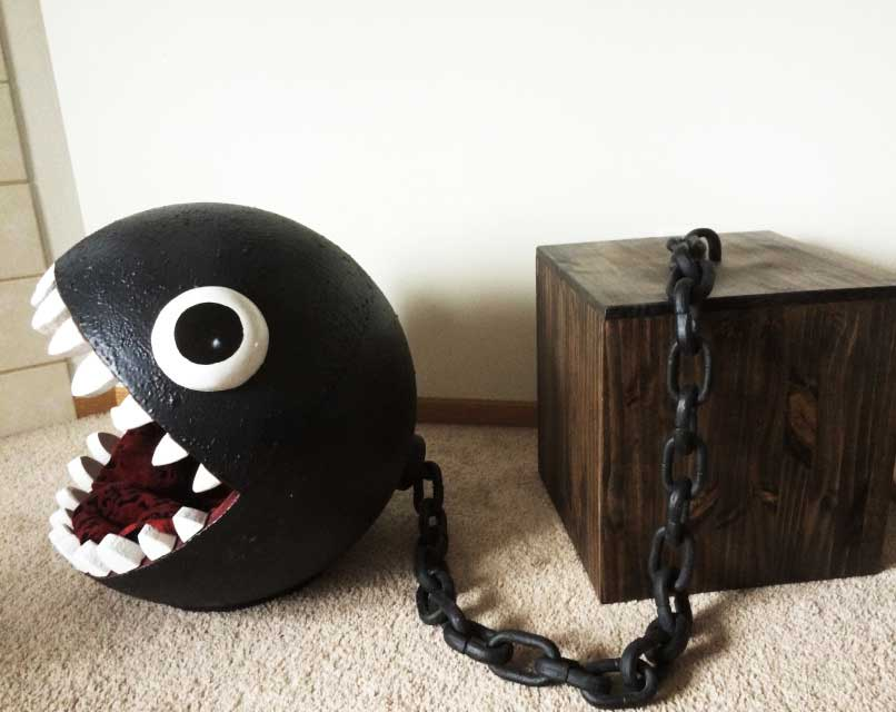 chain chomp cat bed catastrophic creations. Black Bedroom Furniture Sets. Home Design Ideas